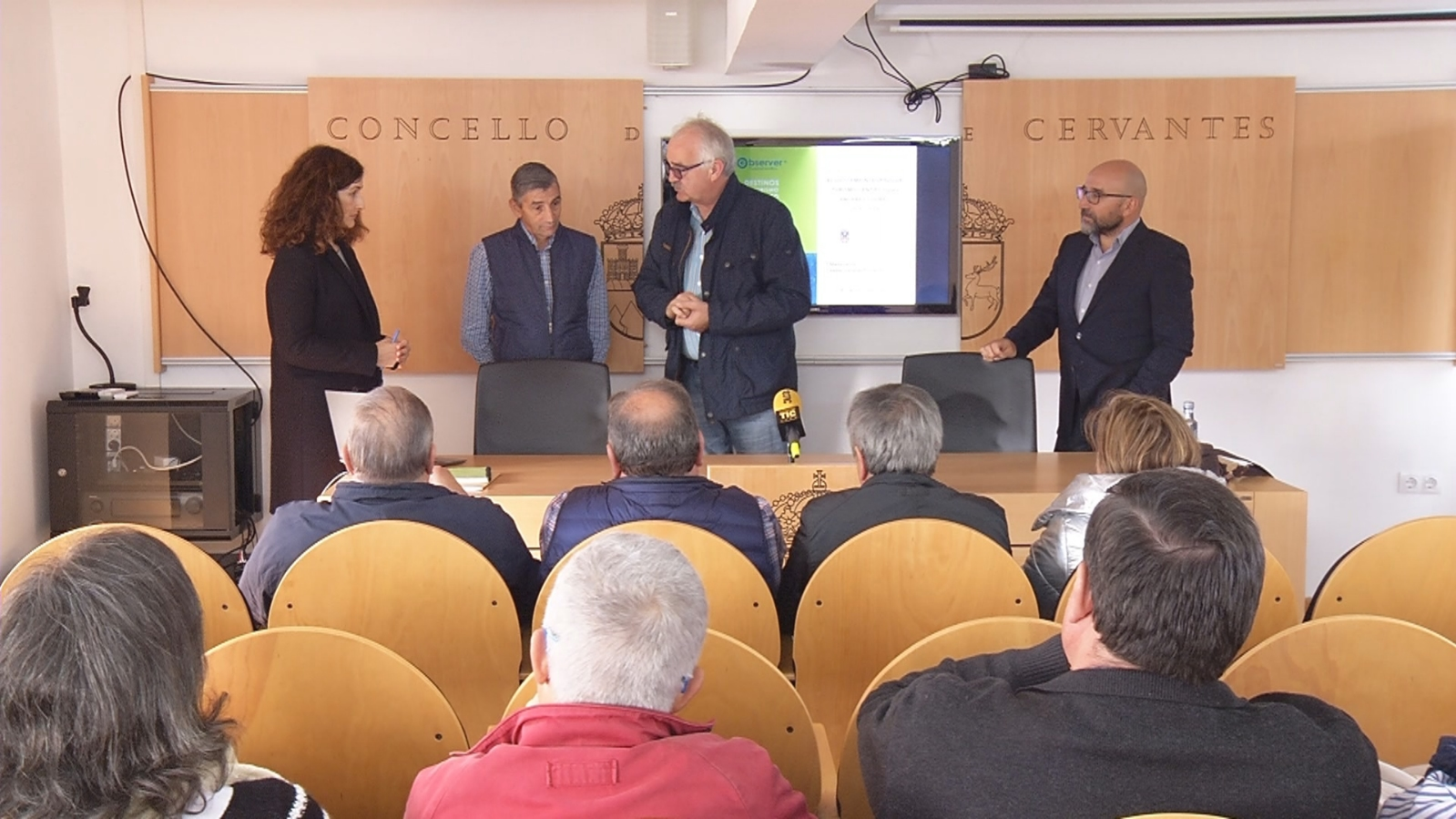 Presentación proxecto de turismo científico Ancares-Courel