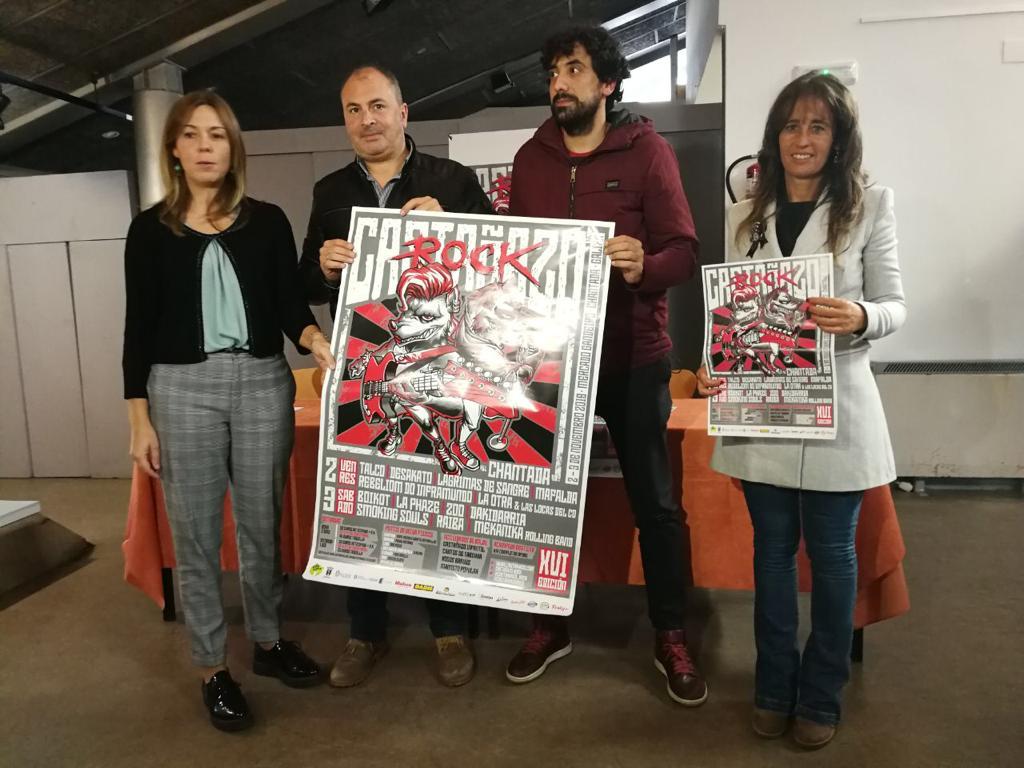 Presentación Castañazo Rock 2018
