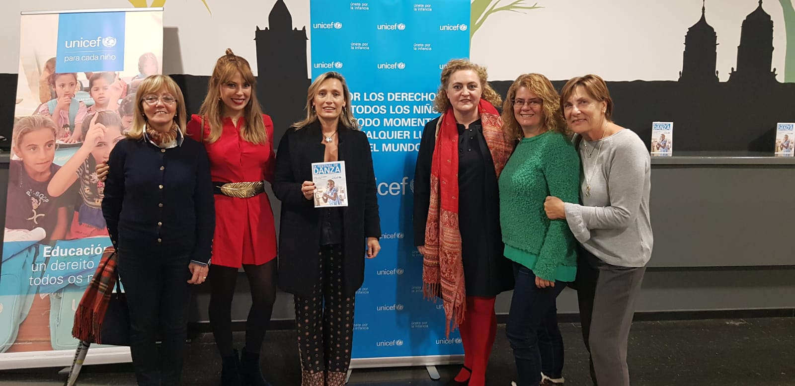 Sonsoles López Izquierdo participou no IX Festival de Danza a Favor de UNICEF que organiza o Conservatorio de Lugo