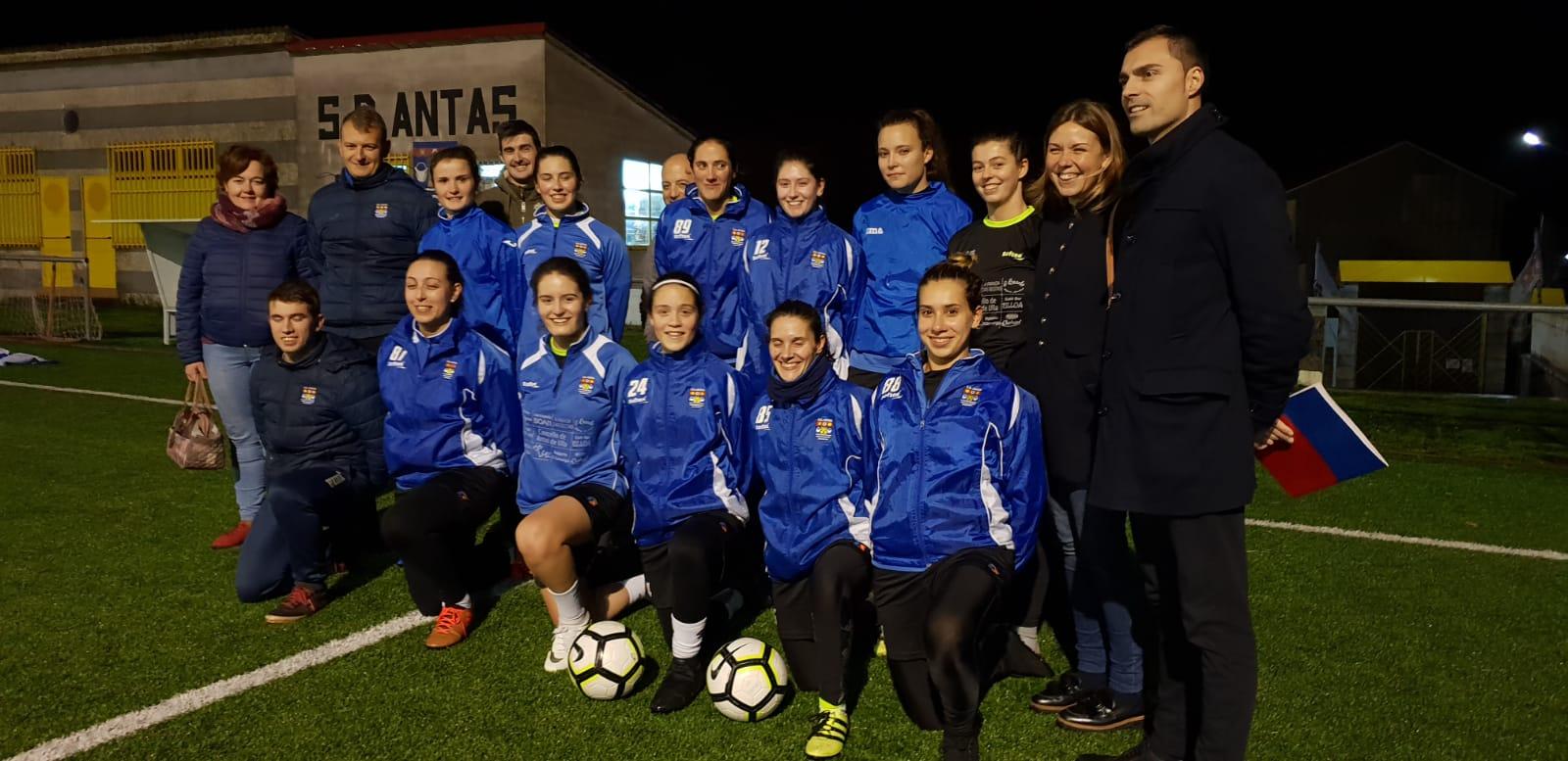 O Goberno da Deputación apoia o deporte feminino en Antas de Ulla con 3.000 euros