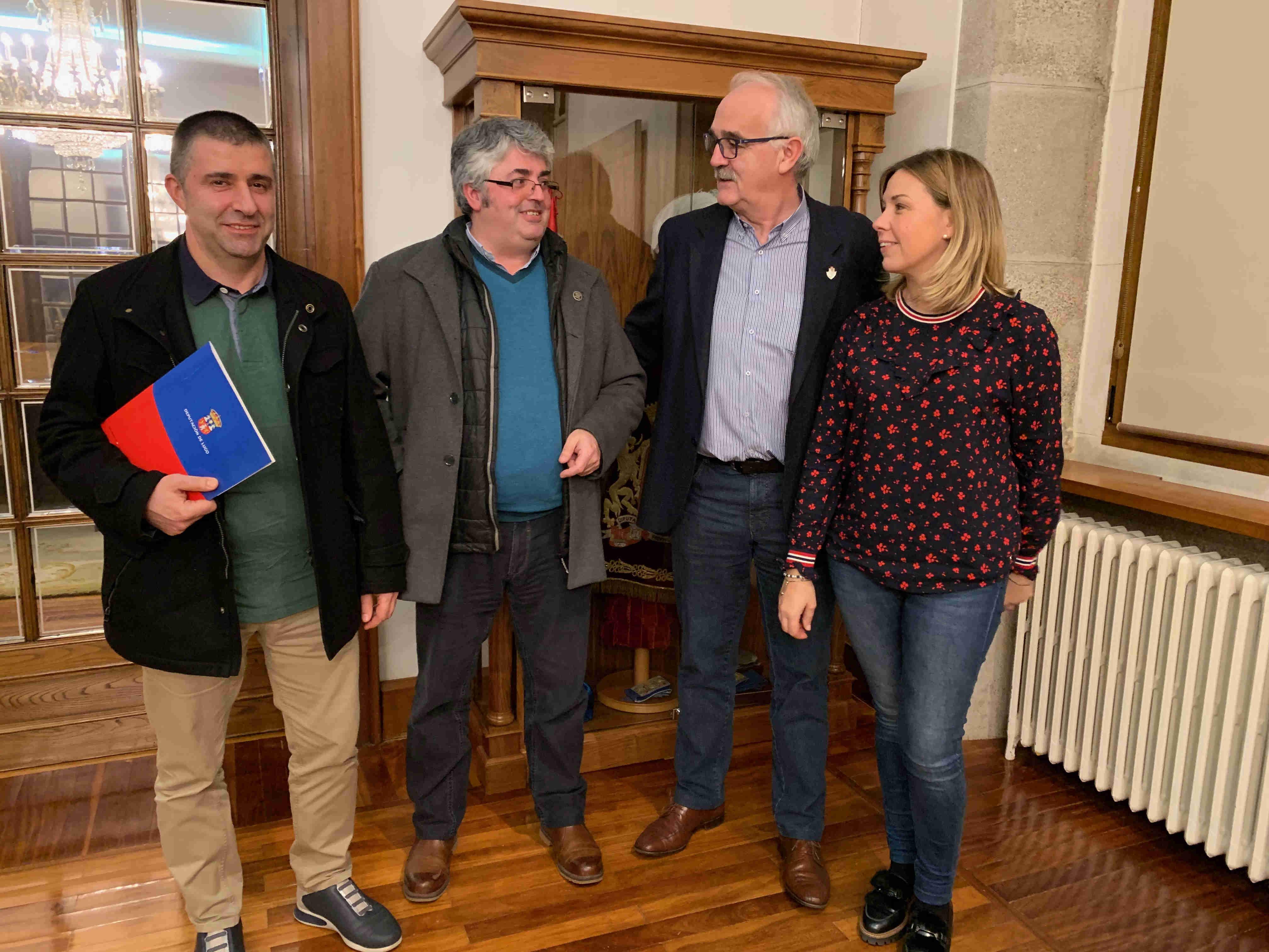 Colaboración co Museo de Prehistoria e Arqueoloxía de Vilalba