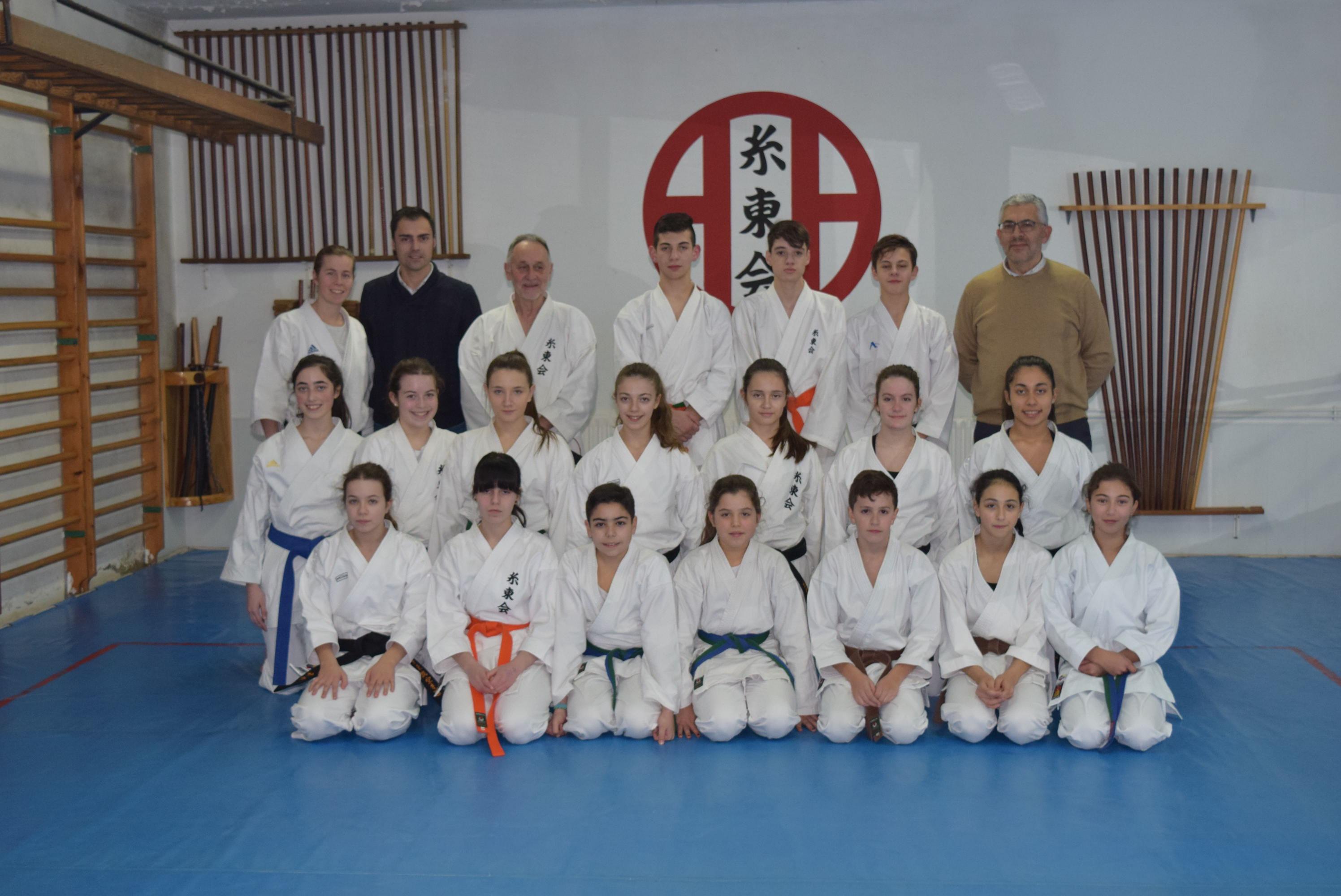 A Deputación co clube de karate 'Shihan'