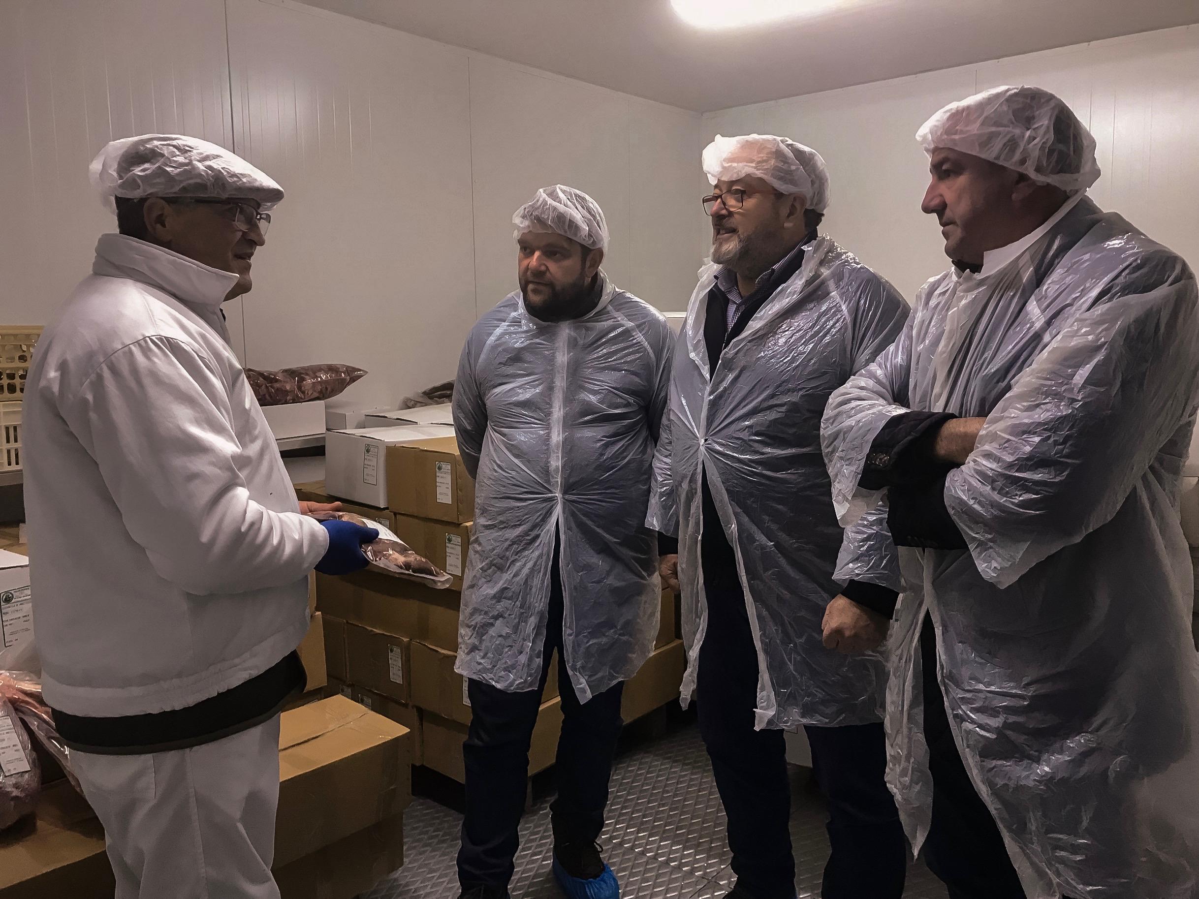 380 animais, 8 toneladas de carne cinexética e vendas en Galicia e Portugal, resultados da tempada no centro de despece da Deputación na Fonsagrada