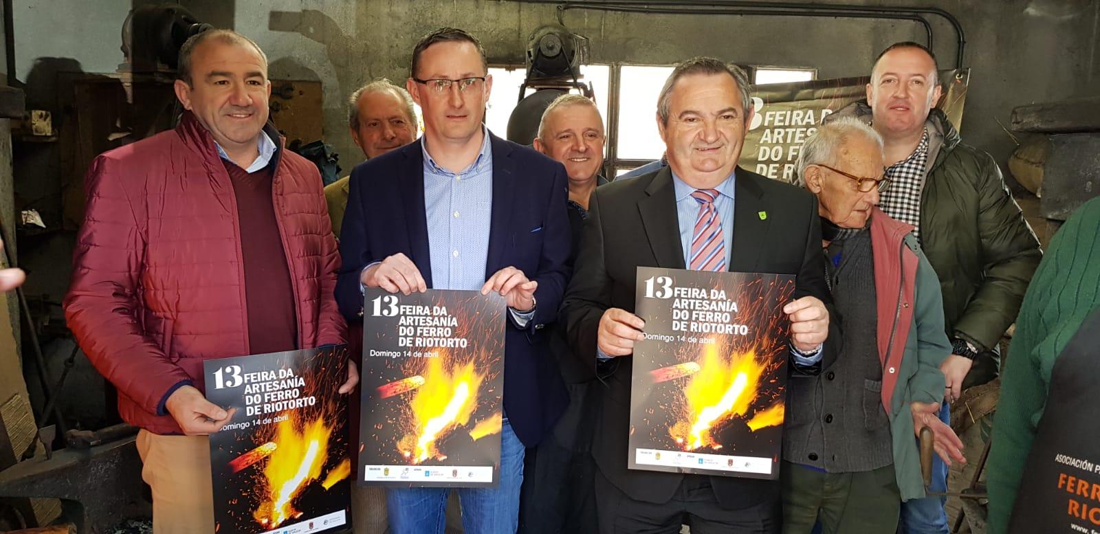 A XIII Feira da Artesanía do Ferro de Riotorto reunirá a 28 ferreiros, co apoio do Goberno da Deputación