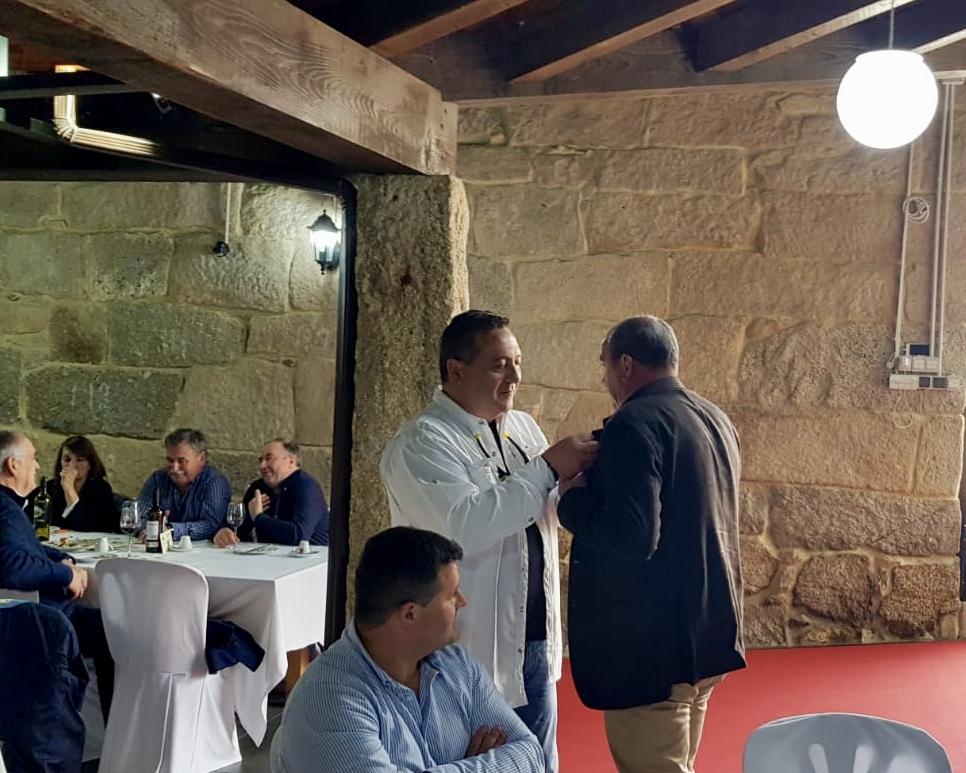 Campos Conde recibe a Medalla de Prata por parte da Asociación de Pescadores da Ulloa