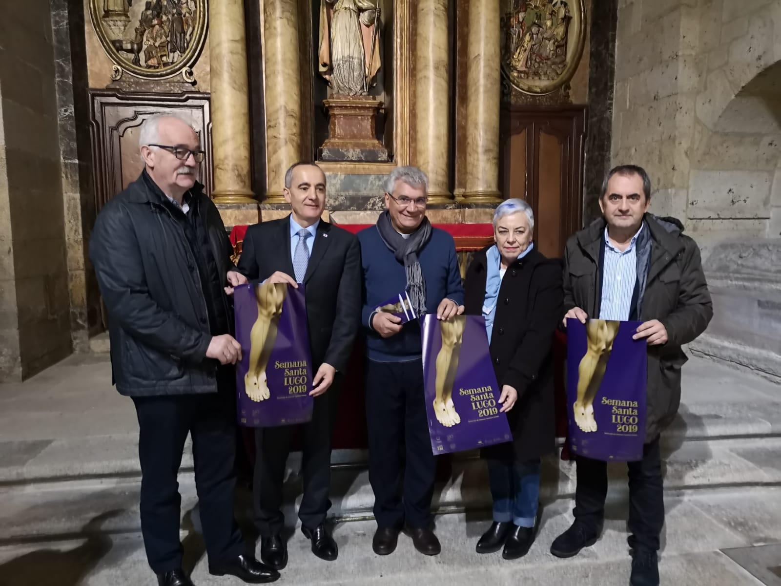 Presentada a programación da Semana Santa de Lugo que comeza mañá