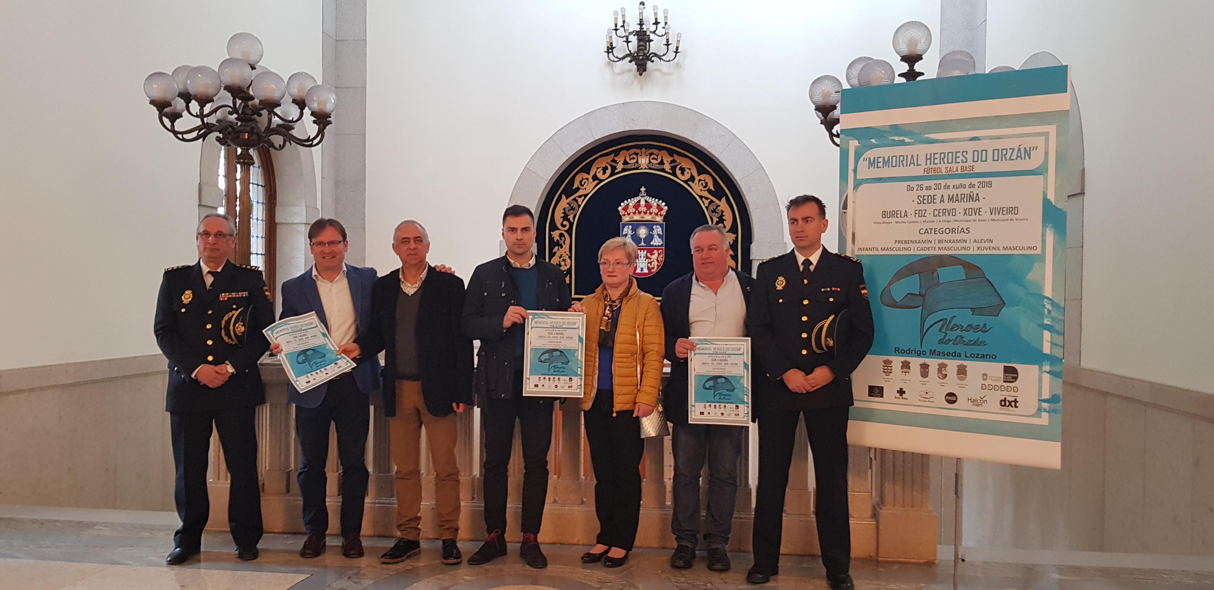 O VIII Memorial Heroes do Orzán reunirá a preto de 900 xogadores de fútbol sala na Mariña