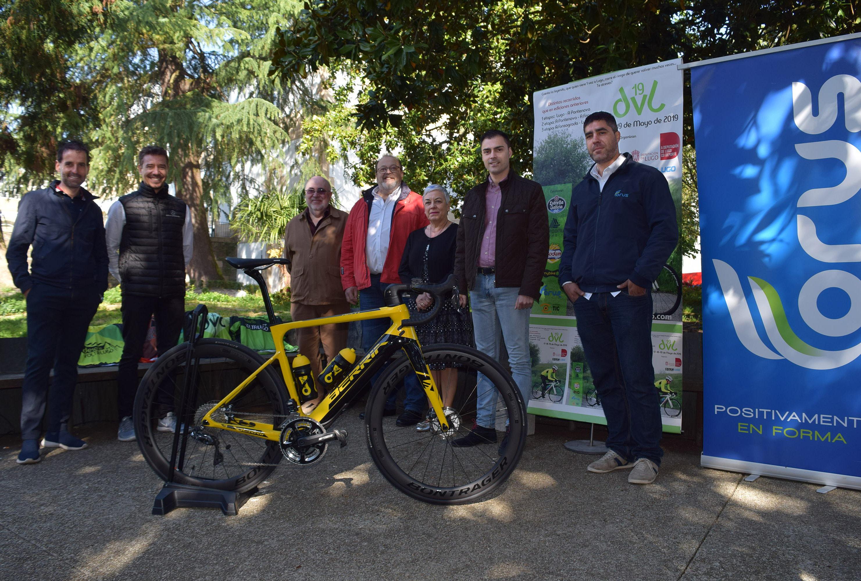 172 ciclistas percorrerán 265 quilómetros no V Desafío Volta a Lugo que patrocina a Deputación