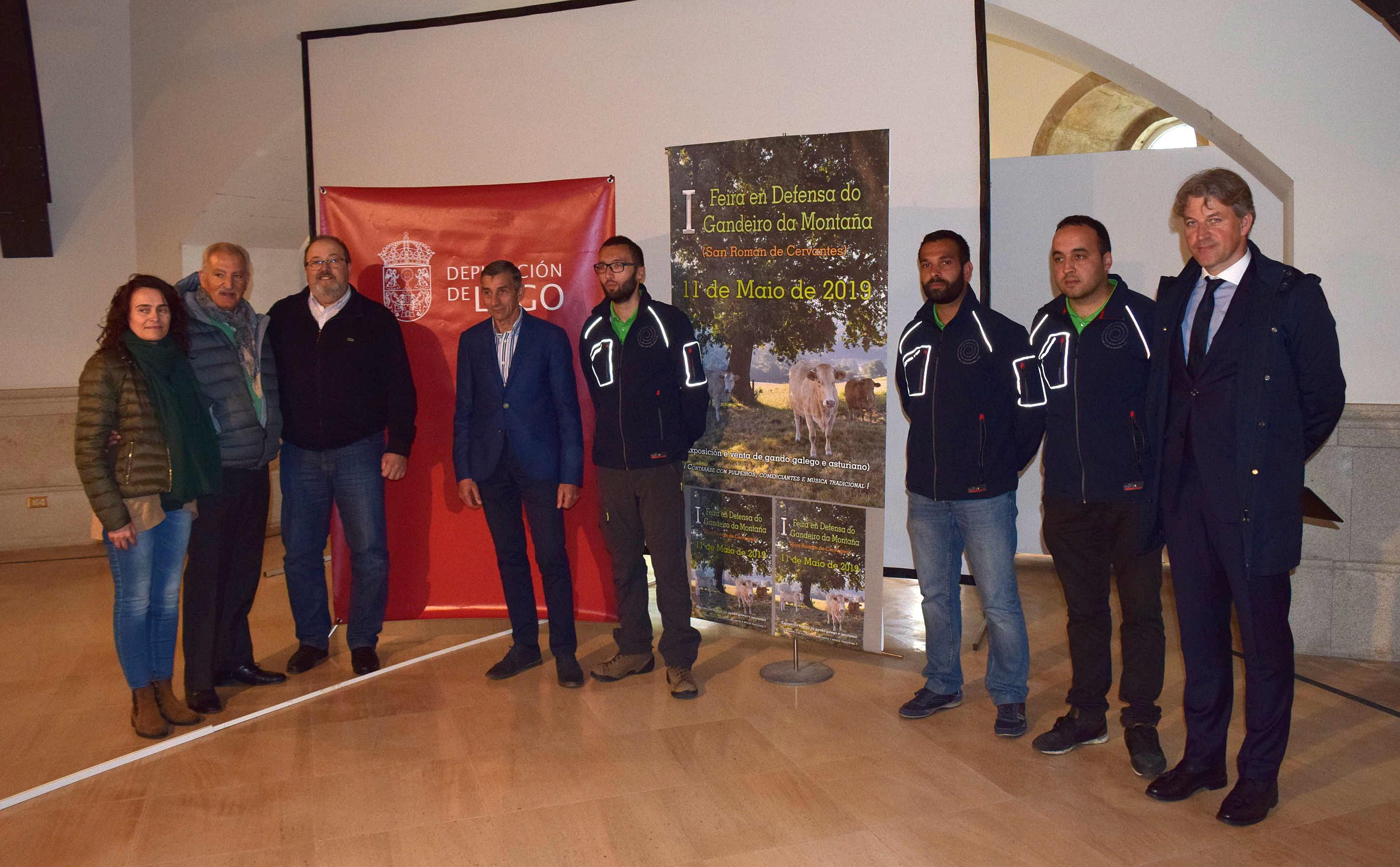 Cervantes revive a súa tradicional Feira do Gando coa colaboración da Deputación
