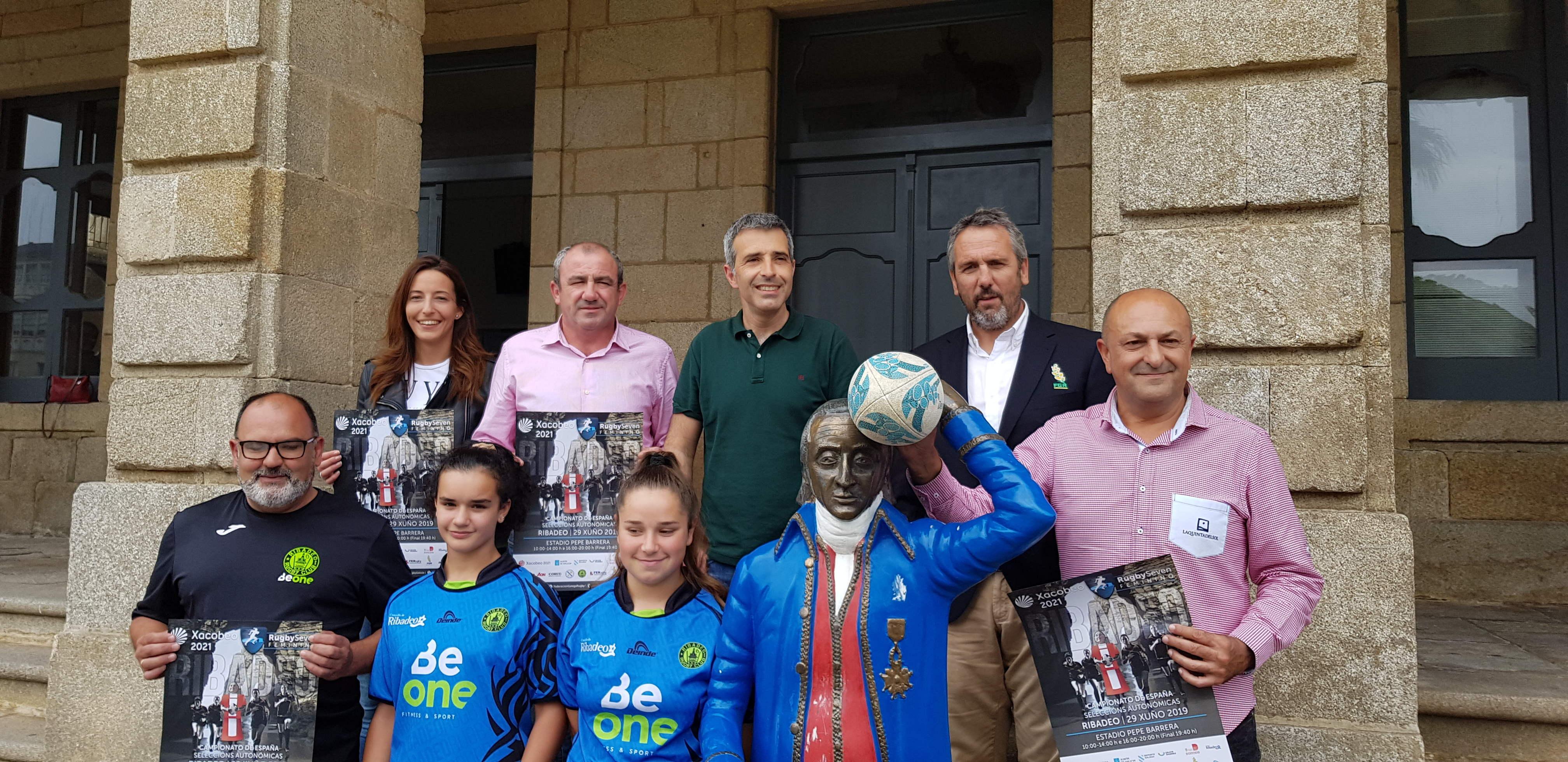 A Deputación colabora coa celebración do Campionato de España feminino de rugby 7