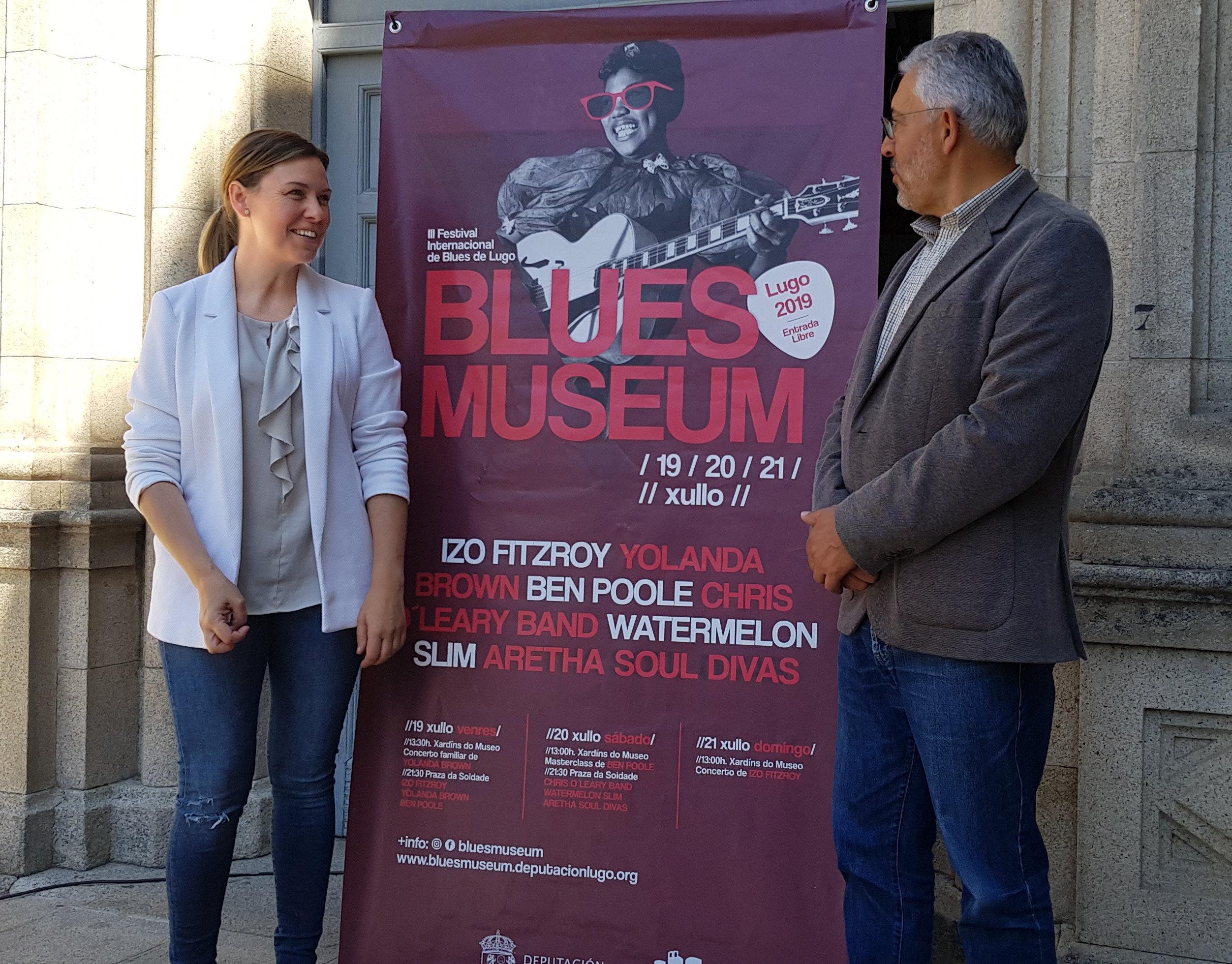 Lugo convértese na capital internacional do blues coas actuacións de Watermelon Slim e YolanDa Brown