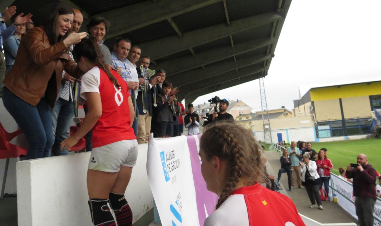 A selección galega feminina de Rugby 7 proclamase campioa de España de Seleccións Autonómicas  IMG001
