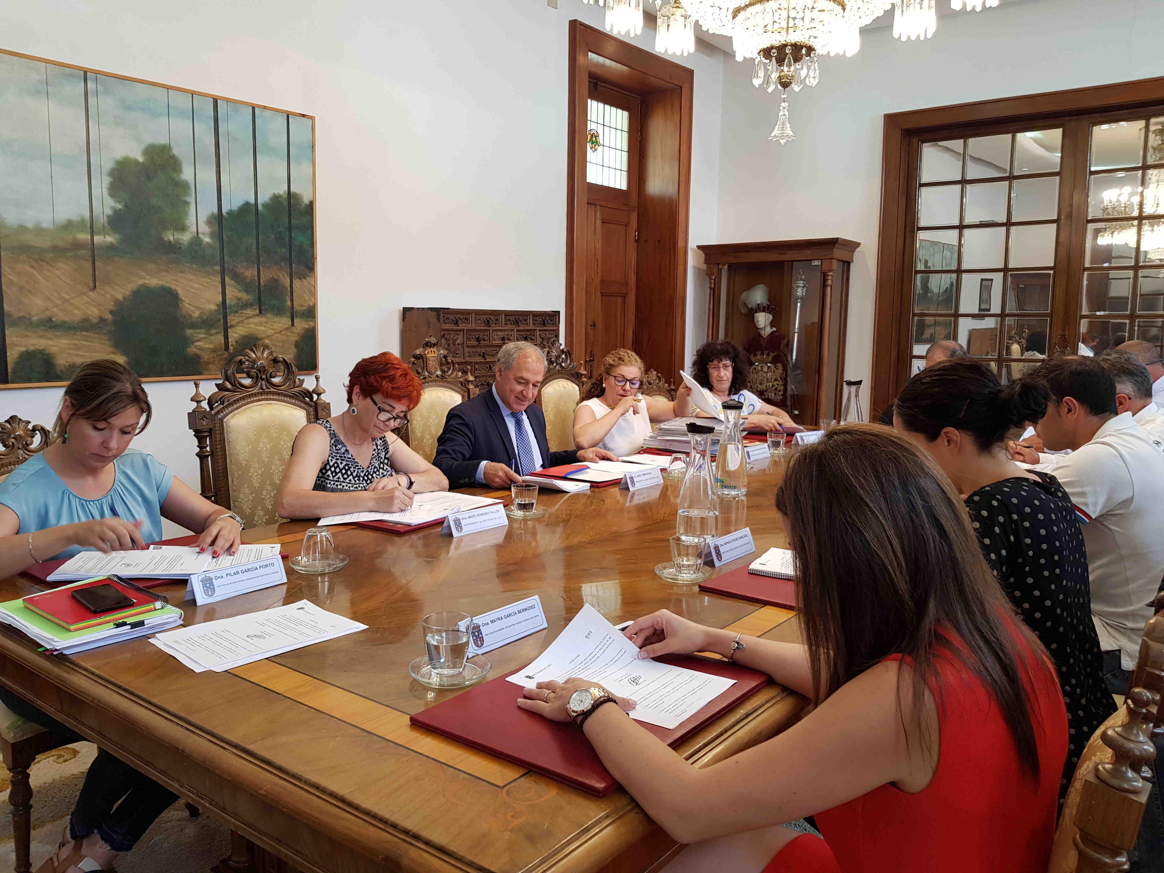 Reunión da Xunta de Goberno da Deputación de Lugo