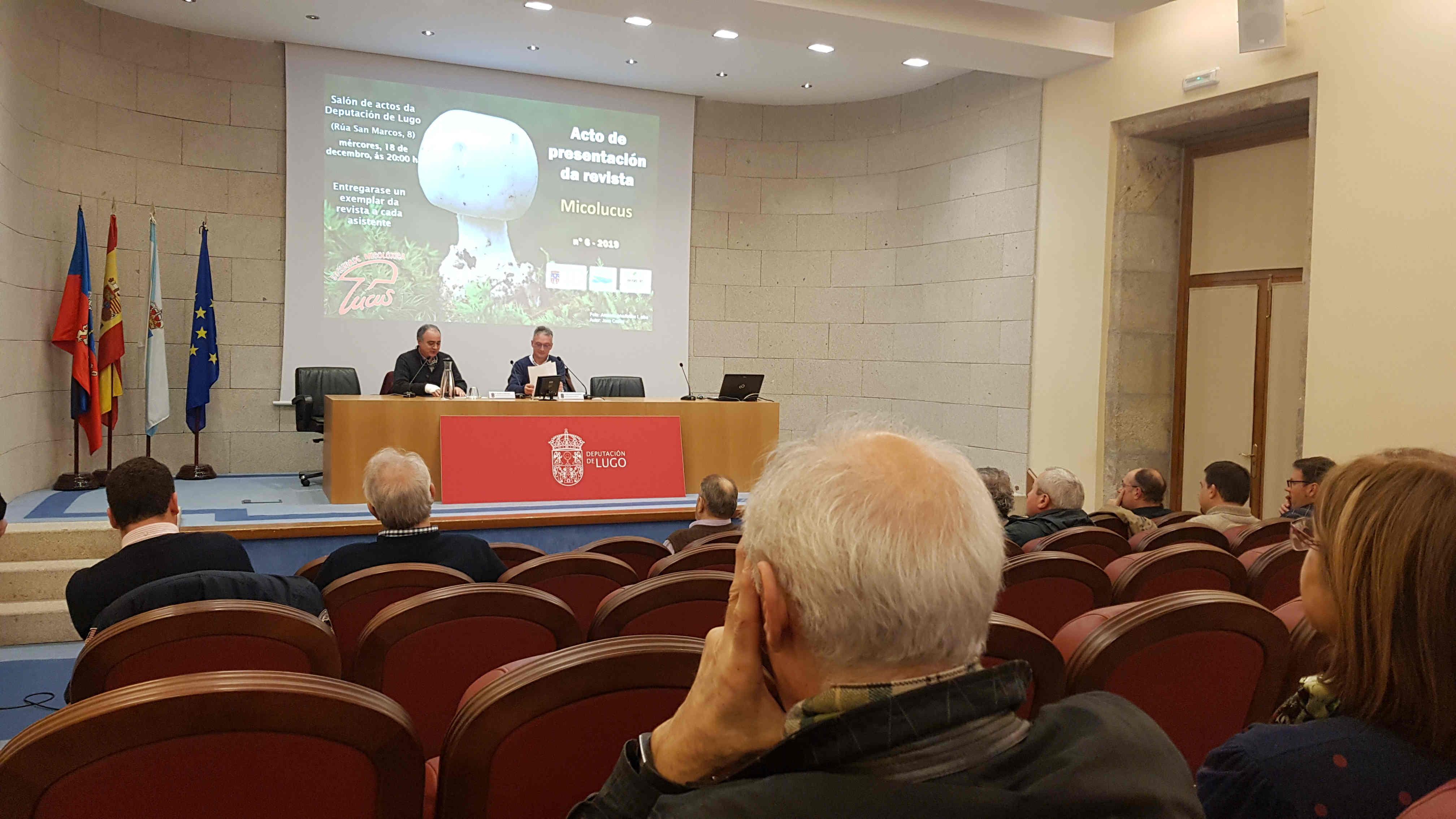 A Deputación de Lugo acolle a presentación dun novo número da revista de micoloxía Micolucus