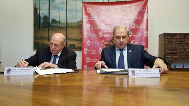 O Presidente da Deputación de Lugo cumpre o compromiso con Pantón firmando un protocolo co Concello para construír o centro de maiores